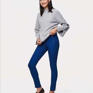 Ann Taylor loft skinny zip pocket ankle pants